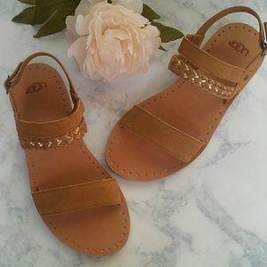 UGG Elin chesnut sandals